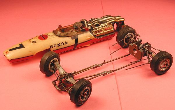 Article steve okeefe 39 s honda f1 for Clark tow motor parts