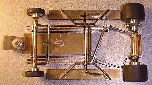 My Collection of Vintage Hand-made Brass Slot Car Chassis