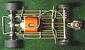 brass slot car chassis